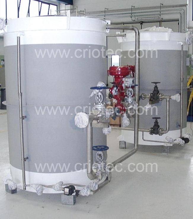 Vaporizzatori in vasca d 39 acqua per fluidi criogenici for Area 51 progetti