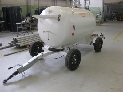 200 Gls LOX transportable storage tank