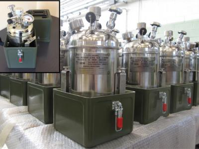 Cryogenic samplers for LOX, LIN, Lar