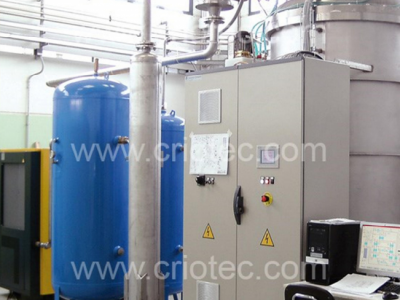 Nitrogen liquefaction plant for the Polytechnic University of Turin